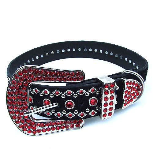 #8030 - Ruby Red Swarovski Crystal Collar