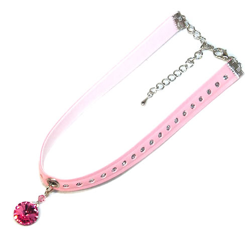 #NL151 - Sparkling Pink Ball Necklace